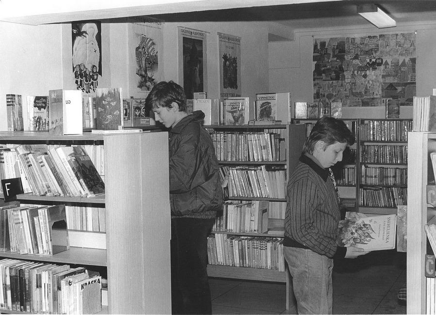 Dětské oddělení na Werichově ulici po rekonstrukci, 1992.