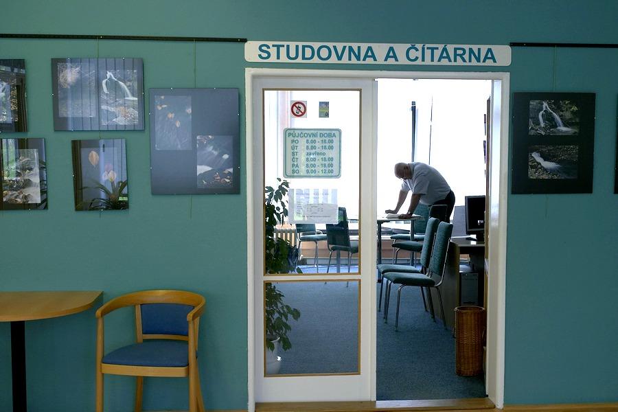 Vchod do studovny, 2005.