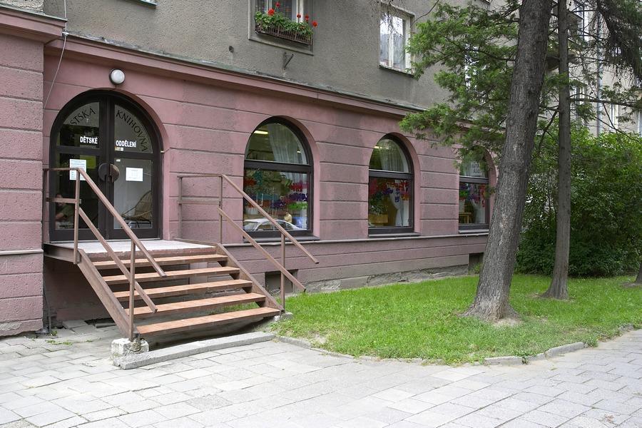 Dětské oddělení na Werichově ulici, 2005