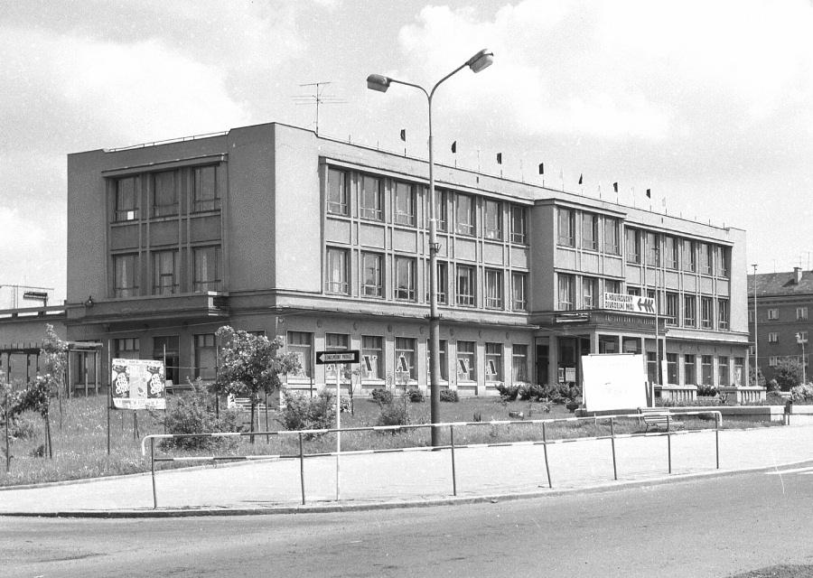 Kulturní dům Petra Bezruče se stal v letech 1961-1970 sídlem knihovny.