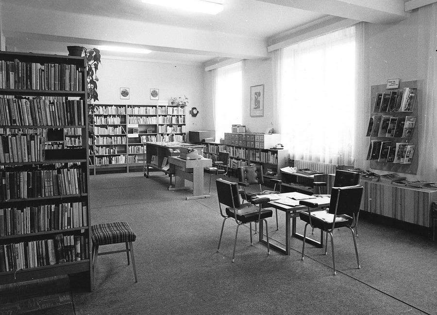 Oddělení dospívající mládeže na Pavlovově ulici, 1985.