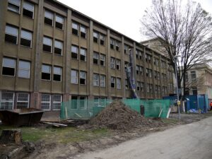 Rekonstrukce budovy na ulici Svornosti, 2011