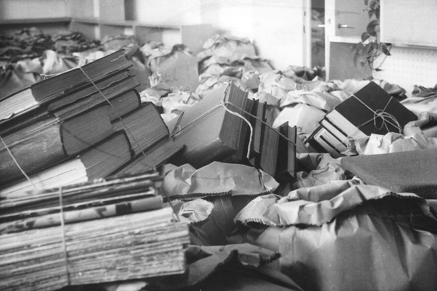 Do nové ústřední knihovny bylo potřeba přestěhovat 80 000 knih.
